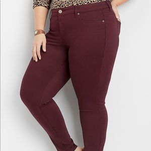 Maurices Wine Jegging